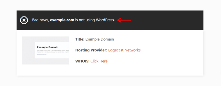 Check if a Website is Built on WordPress