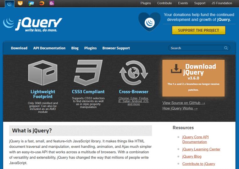 Jquery- best WordPress sites