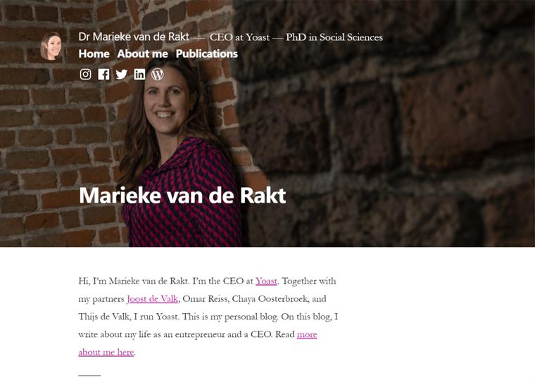 Marieke Van-de Rakt