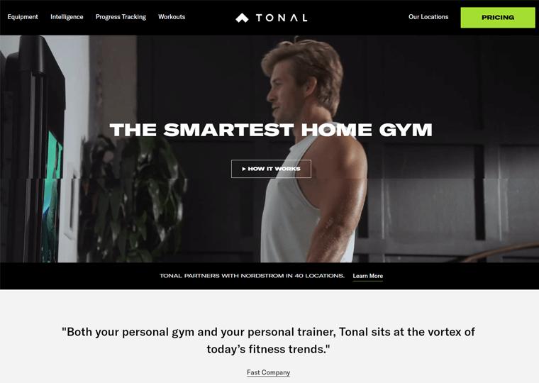 Tonal-WordPress site examples